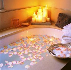 Image result for fotos de bañeras con velas
